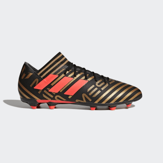 Chaussure Nemeziz Messi 17.3 Terrain souple Core Black / Solar Red / Tactile Gold Met. CP9036