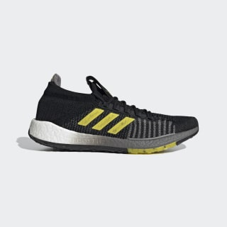 Pulseboost HD Shoes Core Black / Shock Yellow / Dove Grey EG0974