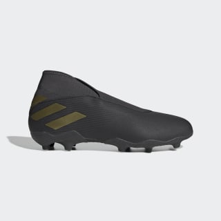 Scarpe da calcio Nemeziz 19.3 Firm Ground Core Black / Gold Met. / Utility Black EF0371