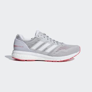 Adizero Boston 7 Schuh Grey Two / Ftwr White / Shock Red B37386