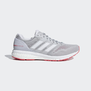 Tenis Adizero Boston 7 Grey Two / Ftwr White / Shock Red B37386