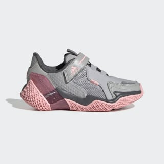 4UTURE Runner Shoes Grey Two / Glory Pink / Grey FV2786