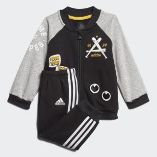 Спортивный костюм Collegiate black / medium grey heather / white FM6405