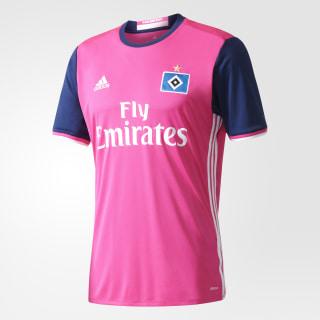 Hamburger SV Auswärtstrikot Shock Pink/White AH5293