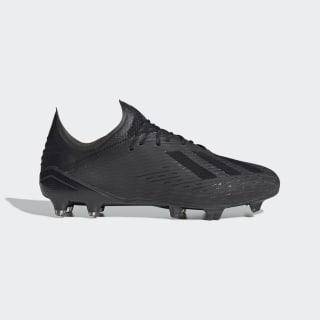 Scarpe da calcio X 19.1 Firm Ground Core Black / Utility Black / Silver Met. F35314