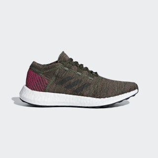 Pureboost Go Shoes Base Green / Night Cargo / Trace Maroon B75668