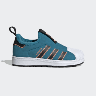 Кроссовки Superstar 360 Winter active teal / core black / semi coral EE6416