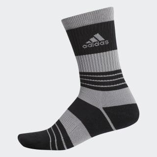 Linear Colorblock Crew Socks Black / Grey Three DT2327