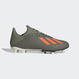 Botas de Futebol X 19.3 – Piso firme Legacy Green / Solar Orange / Chalk White EF8365