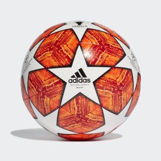 Мяч для мини-футбола Лига чемпионов УЕФА Finale Madrid 5x5 white / active red / scarlet / solar red DN8680