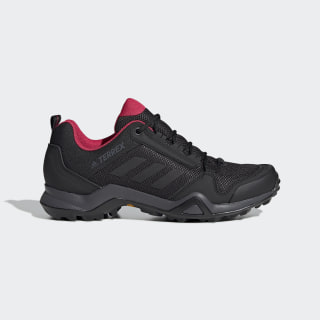 Terrex AX3 Shoes Carbon / Core Black / Active Pink BB9519