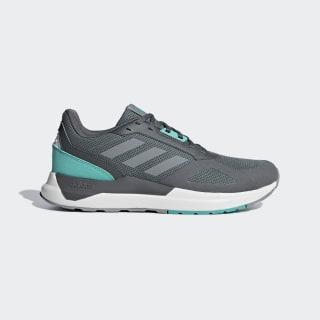 Tenisky Run 80s Grey Five / Grey / Hi-Res Aqua BB7829