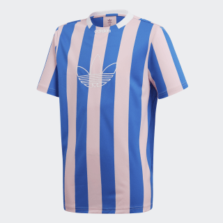 Camiseta Stripes True Pink / Blue DW3828