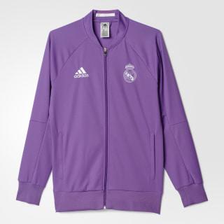 Chamarra de Visitante Real Madrid Anthem RAY PURPLE/CRYSTAL WHITE S95560