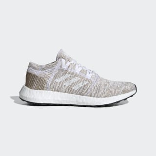 Chaussure Pureboost Go Cloud White / Silver Metallic / Copper Metalic F36347