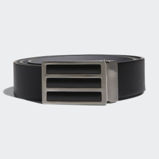 Ceinture unie réversible 3-Stripes Black / Grey Three CZ1475