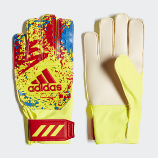 Guantes portero Classic Training Solar Yellow / Active Red / Football Blue DT8748