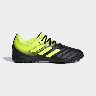 Copa 19.3 Turf Shoes Core Black / Solar Yellow / Solar Yellow D98085
