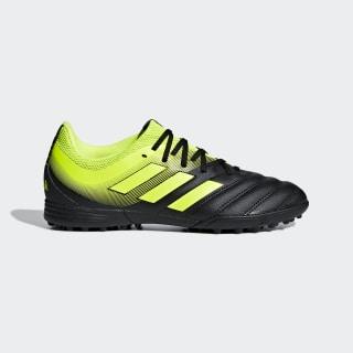 Scarpe da calcio Copa 19.3 Turf Core Black / Solar Yellow / Solar Yellow D98085