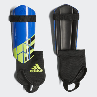 X Shin Guards Football Blue / Black / Solar Yellow CW9720