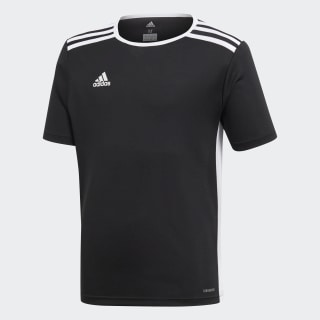Camiseta Entrada 18 BLACK/WHITE CF1041
