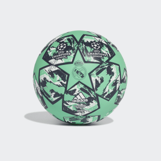 Pallone Mini UCL Finale 19 Real Madrid Hi-Res Green / Night Indigo / White DY2544