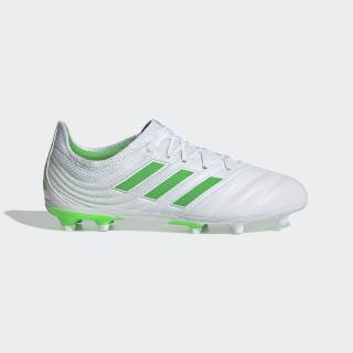 Футбольные бутсы Copa 19.1 FG ftwr white / solar lime / ftwr white D98093
