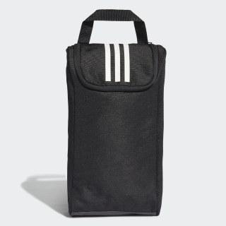 3-Streifen Schuhtasche Black / Black / White DW5952