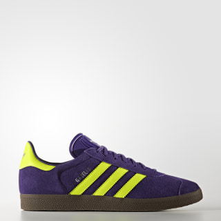 Gazelle Shoes Purple / Solar Yellow / Gum BB5262