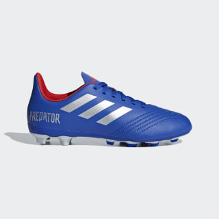 Calzado de Fútbol Predator 19.4 Multiterreno Bold Blue / Silver Metallic / Active Red CM8540