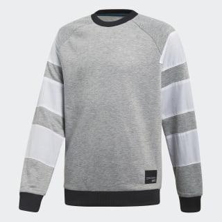 Джемпер EQT medium grey heather / black CF8539