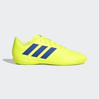Chuteira Nemeziz Tango 18.4 Futsal solar yellow / football blue / active red CM8519
