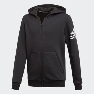 Must Haves Badge of Sport Track Top Black / White ED6481
