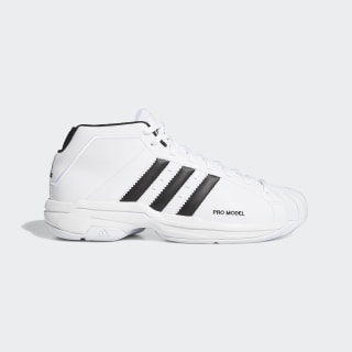 Pro Model 2G Shoes Cloud White / Core Black / Cloud White EF9824