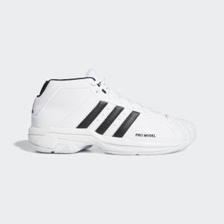 Zapatillas de básquet Pro Model 2G Cloud White / Core Black / Cloud White EF9824