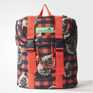 adidas STELLASPORT Printed Backpack Night Indigo / Flash Red AX7595