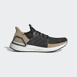 Ultraboost 19 Shoes Core Black / Raw Sand / Grey F35241