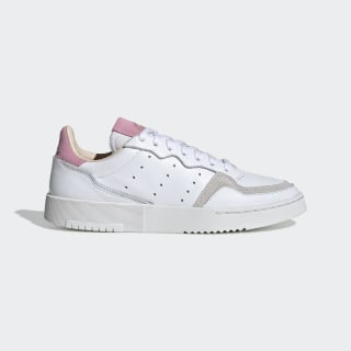 Supercourt Schoenen Cloud White / Cloud White / True Pink EF9219