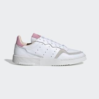 Supercourt Schuh Cloud White / Cloud White / True Pink EF9219