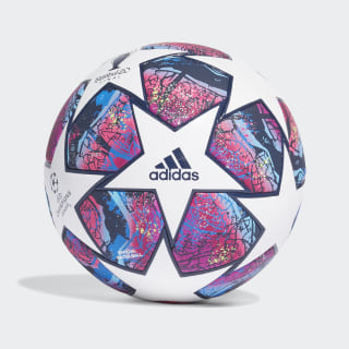 Bola Pro UCL Finale Istanbul White / Pantone / Collegiate Royal / Bright Cyan FH7343