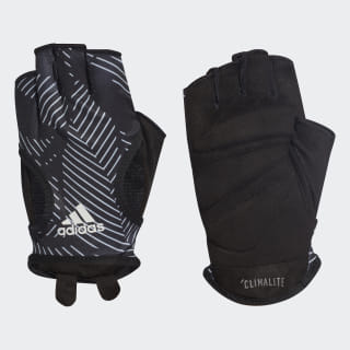 Guantes Graphic Climalite black / raw white / black DT7952