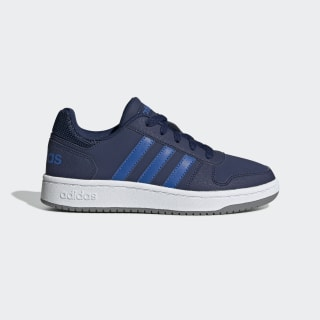 Hoops 2.0 Shoes Dark Blue / Blue / Grey Three EE8999