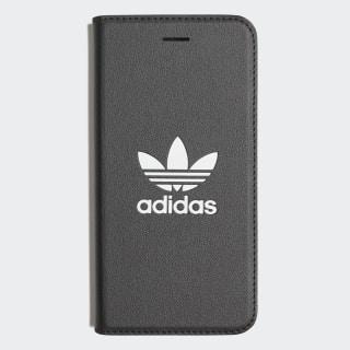 Basic Logo Flip Case iPhone 8 Black / White CK6166