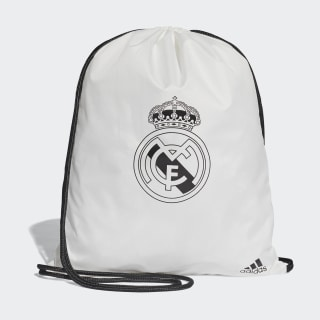 Bolso Deportivo Real Madrid Core White / Black CY5608