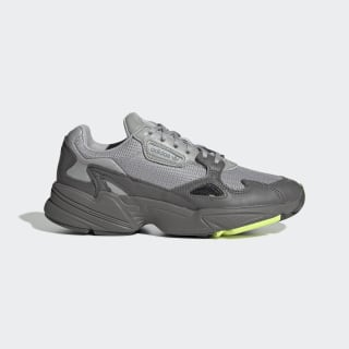 Chaussure Falcon Grey Four / Grey Two / Hi-Res Yellow EE5115