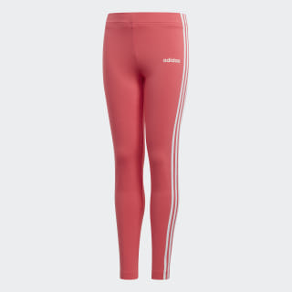Legginsy adidas Essentials 3-Stripes Real Pink / White EH6162