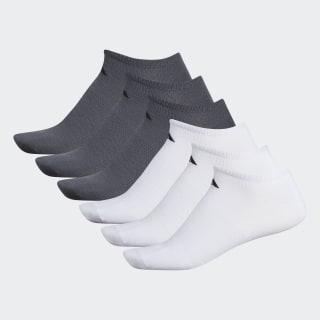 Superlite Ankle Socks 6 Pairs White BH9619