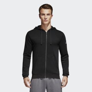 Blusa Capuz Essentials Base Fleece BLACK BK3717