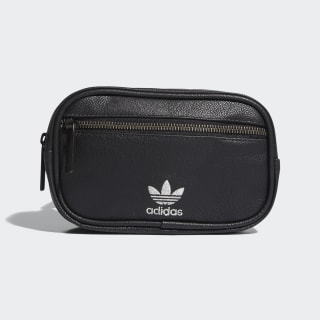 Faux Leather Waist Pack Black CL5449