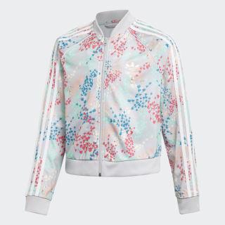 Cropped SST Track Jacket Multicolor / White EJ6299